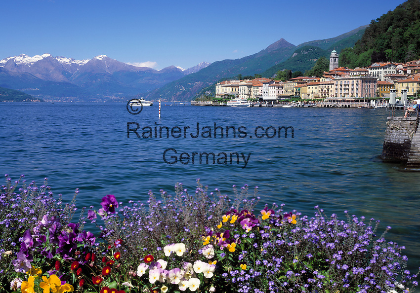 ITA, Italien, Lombardei, Bellagio: traumhafte Lage am Comer See  | ITA, Italy, Lombardia, Bellagio: a perfect dream at Lake Como