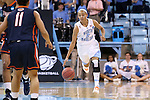 23 March 2014: North Carolina's Latifah Coleman (2). The University of North Carolina Tar Heels played the University of Tennessee Martin Skyhaws in an NCAA Division I Women's Basketball Tournament First Round game at Cameron Indoor Stadium in Durham, North Carolina. UNC won the game 60-58.
