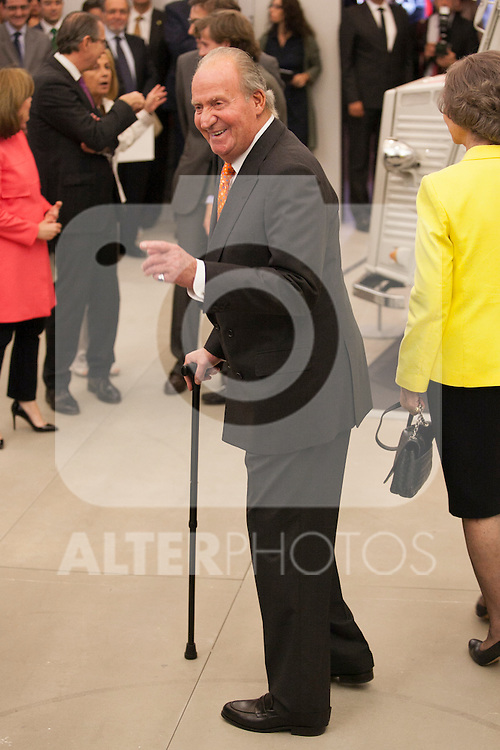 "King Juan Carlos of Spain during the ""REY DE ESPAÑA"" International Journalism Awards and ¨DON QUIJOTE"" Journalism Award in Madrid, Spain. May 27, 2014. (ALTERPHOTOS/Victor Blanco)"