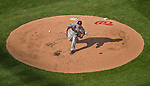 6 April 2015: New York Mets starting pitcher Bartolo Colon on the mound during the Season Opening Game against the Washington Nationals at Nationals Park in Washington, DC. The Mets rallied to defeat the Nationals 3-1 in their first meeting of the 2015 MLB season. Mandatory Credit: Ed Wolfstein Photo *** RAW (NEF) Image File Available ***