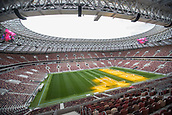 May 29th 2018 Moscow, Russia; The inside view of Luzhniki Stadium which will host the 2018 World Cup matches in Moscow, Russia.