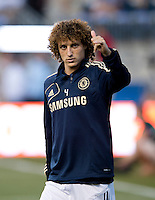 David Luiz.  The MLS All-Stars defeated Chelsea, 3-2.