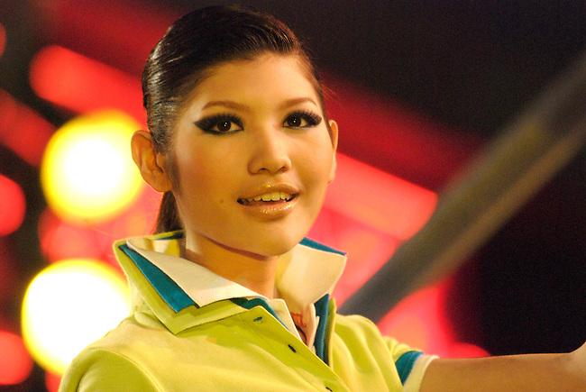 Bangkok Thailand Fashion show Abstract Inspiration 2007