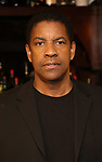 """Denzel Washington attends the Broadway cast of """"The Iceman Cometh""""  Press Photocall at Delmonico's on April 11, 2018 in New York City."""
