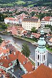 CZECH REPUBLIC,  Cesky Krumlov, Town views