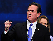 Former United States Senator Rick Santorum (Republican of Pennsylvania), a candidate for the 2012 Republican Party nomination for President of the United States, makes remarks at the 2012 CPAC Conference at the Marriott Wardman Park Hotel in Washington, D.C. on Friday, February 10, 2012..Credit: Ron Sachs / CNP