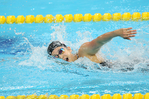 Asami Chida (JPN), <br /> SEPTEMBER 21, 2014 - Swimming : <br /> Women's 400m Freestyle Heat <br /> at Munhak Park Tae-hwan Aquatics Center <br /> during the 2014 Incheon Asian Games in Incheon, South Korea. <br /> (Photo by YUTAKA/AFLO SPORT) [1040]