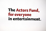 The 2013 Actors Fund Annual Gala at the Mariott Marquis Hotel in New York on 4/29/2013...