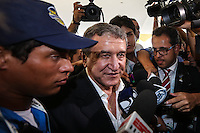 COSTA DO SAUIPE, BA, 05.12.2013 - COPA 2014 - SORTEIO - COLETIVA EMBAIXADORES DA COPA - O auxiliar tecnico da selecao brasileira Carlos Alberto Parreira e visto um dia antes do sorteio oficial da Copa do Mundo de 2014 na Costa do Sauipe litoral norte da Bahia, nesta quinta-feira, 05. (Foto: William Volcov / Brazil Photo Press).