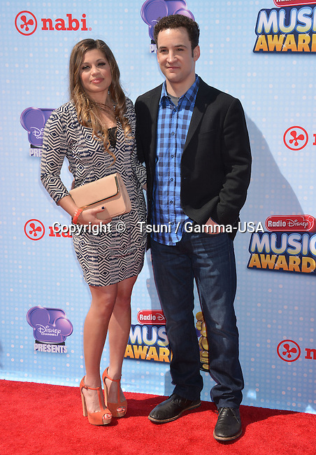 Ben Savage, Danielle Fishel   at the Radio Disney Music Awards 2014 at the Nokia Theatre in Los Angeles.