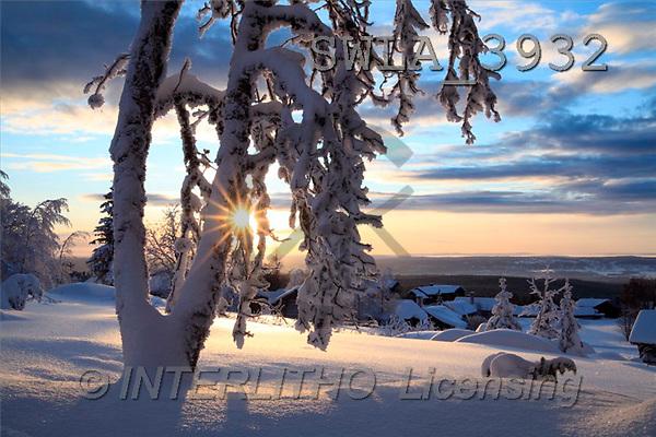 Carl, LANDSCAPES, Christmas landscape, photos(SWLA3932,#L#) Landschaften, Weihnachten, paisajes, Navidad