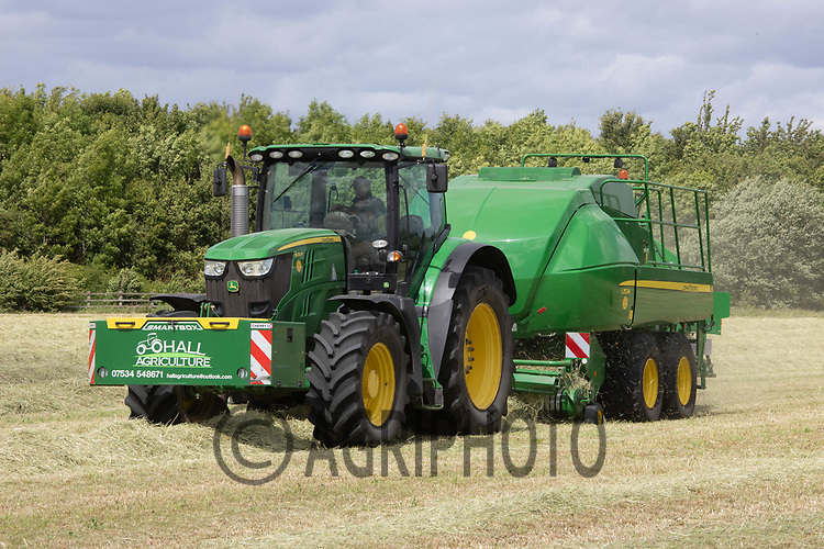 22.5.2020 Contractors baling haylage <br /> ©Tim Scrivener Photographer 07850 303986<br />      ....Covering Agriculture In The UK....