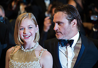 Joaquin Phoenix &amp; Ekaterina Samsonov at the premiere of 'You Were Never Really Here' at the 70th Festival de Cannes.<br /> May 27, 2017  Cannes, France<br /> Picture: Kristina Afanasyeva / Featureflash