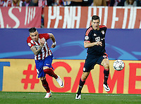 Bayer Munich's forward Robert Lewandoswski