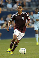 Rapids defender Hunter Freeman in action..Sporting Kansas City defeated Colorado Rapids 2-0 in Open Cup play at LIVESTRONG Sporting Park, Kansas City, Kansas.