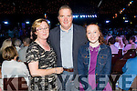 Anne, Eamon and Emily Heaslip, Tralee, pictured at the Austin Stacks Strictly Come Dancing held in the Dome, Tralee on Saturday night