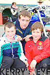 Brendan Sweeney, Michael and Jason Sheahan Caragh Lake looking at the bikes during the Irish Motor Bike rally in the Gleneagle Hotel Killarney on Saturday     Copyright Kerry's Eye 2008
