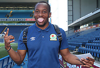 Blackburn Rovers' Ryan Nyambe arrives at the ground<br /> <br /> Photographer Rachel Holborn/CameraSport<br /> <br /> The EFL Sky Bet League One - Blackburn Rovers v Oxford United - Saturday 5th May 2018 - Ewood Park - Blackburn<br /> <br /> World Copyright &copy; 2018 CameraSport. All rights reserved. 43 Linden Ave. Countesthorpe. Leicester. England. LE8 5PG - Tel: +44 (0) 116 277 4147 - admin@camerasport.com - www.camerasport.com