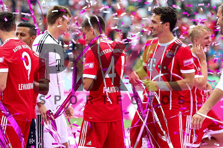 Sieger Telekom Cup 2017 FC Bayern M&uuml;nchen beim Telekom Cup 2017 Bayern Muenchen - Werder Bremen.<br /> <br /> Foto &copy; PIX-Sportfotos *** Foto ist honorarpflichtig! *** Auf Anfrage in hoeherer Qualitaet/Aufloesung. Belegexemplar erbeten. Veroeffentlichung ausschliesslich fuer journalistisch-publizistische Zwecke. For editorial use only.