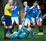 Mark Brown and Kenny Miller both decked after the opening goal