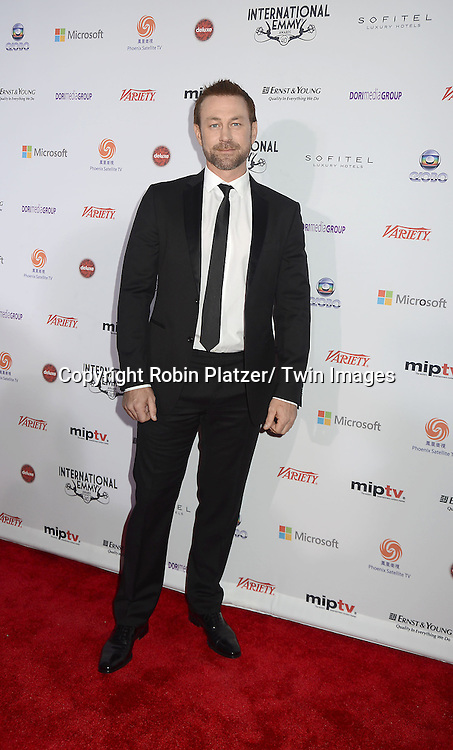 Grant Bowler attends the 40th Annual International Emmy Awards .on November 19, 2012 at The Hilton New York in New York City.
