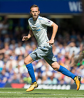 Gylfi Sigurosson of Everton during the Premier League match between Chelsea and Everton at Stamford Bridge, London, England on 27 August 2017. Photo by Andy Rowland.