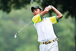 Yukim Osafune of Japan tees off during the 2011 Faldo Series Asia Grand Final on the Faldo Course at Mission Hills Golf Club in Shenzhen, China. Photo by Raf Sanchez / Faldo Series