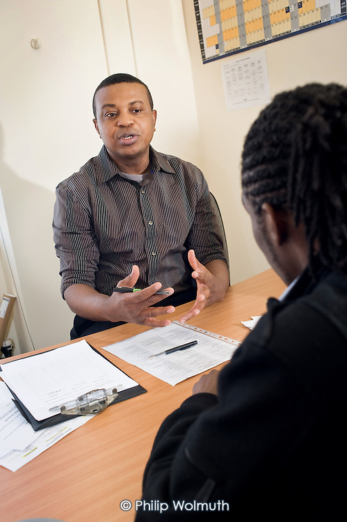 Employment advisor at Nova New Opportunities, in Ladbroke Grove, North Kensington, which provides ESOL, IT and numeracy training.  The area is home to a high proportion of recently arrived immigrants.