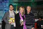 "Days of our Lives Eddie Campbell (art director), Sheri Anderson (was head writer of Days and wrote at Santa Barbara, Guiding Light, General Hospital and head writer for Another World) and Greg Meng (Executive in charge of Production) at a book signing for ""Days Of Our Lives: A celebration in Photos - 45 years"" on February 25, 2011 at the NBC Experience Store, Rockefeller Center, New York City, New York. (Photo by Sue Coflin/Max Photos)"