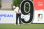 Marcus Fraser tees off on the 9th tee during Day 1 of the Dubai World Championship, Earth Course, Jumeirah Golf Estates, Dubai, 25th November 2010..(Picture Eoin Clarke/www.golffile.ie)