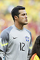Julio Cesar (BRA),<br /> JULY 4, 2014 - Football / Soccer : FIFA World Cup Brazil 2014 Quarter Final match between Brazil 2-1 Colombia at the Castelao arena in Fortaleza, Brazil. <br /> (Photo by AFLO)