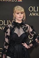 Hannah Arterton<br /> The Olivier Awards 2018 , arrivals at The Royal Albert Hall, London, UK -on April 08, 2018.<br /> CAP/PL<br /> &copy;Phil Loftus/Capital Pictures