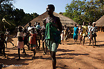 Ancoutoum village on Canabaque island..Village d Ancoutoum sur l ile de Canabaque.