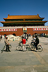 China: Beijing, Tian'anmen Square    Photo: chinas104 .Photo copyright Lee Foster, 510/549-2202, lee@fostertravel.com, www.fostertravel.com