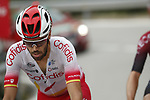 Nicolas Edet (FRA) Cofidis part of the large breakaway group during Stage 8 of La Vuelta 2019 running 166.9km from Valls to Igualada, Spain. 31st August 2019.<br /> Picture: Luis Angel Gomez/Photogomezsport | Cyclefile<br /> <br /> All photos usage must carry mandatory copyright credit (© Cyclefile | Luis Angel Gomez/Photogomezsport)