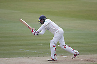 Haseeb Hameed of Lancashire CCC drives through mid on for a boundary during Middlesex CCC vs Lancashire CCC, Specsavers County Championship Division 2 Cricket at Lord's Cricket Ground on 12th April 2019