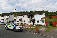 2018 06 12 House explosion in Dan-Y Darren, south Wales, UK