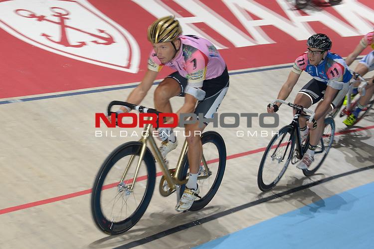 13.01.2014, &Ouml;VB Arena, Bremen, GER, Sixdays Bremen, im Bild Marcel Barth (Team Bremen Ol&eacute; #7)<br /> <br /> Foto &copy; nordphoto / Frisch