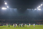 Atalanta players acknowledge their fans after the final whistle of the Serie A match at Giuseppe Meazza, Milan. Picture date: 11th January 2020. Picture credit should read: Jonathan Moscrop/Sportimage