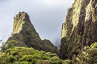 Iao Needle, Iao Valley State Park, Wailuku, Maui
