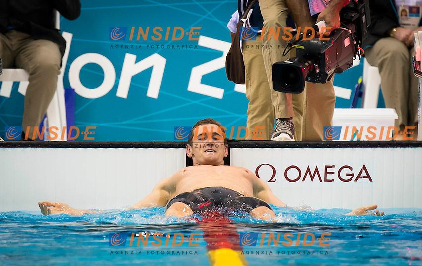 van der BURGH Cameron RSA.100m Breaststroke Men.Final.Swimming finals.London 2012 Olympics - Olimpiadi Londra 2012.day 03 July 29.Photo G.Scala/Deepbluemedia.eu/Insidefoto
