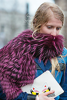 Laura Tonder at London Fashion Week (Photo by Hunter Abrams/Guest of a Guest)