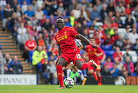 Sadio Mane of Liverpool in action during the 2016/17 Pre Season Friendly match between Tranmere Rovers and Liverpool at Prenton Park, Birkenhead, England on 8 July 2016. Photo by PRiME Media Images.