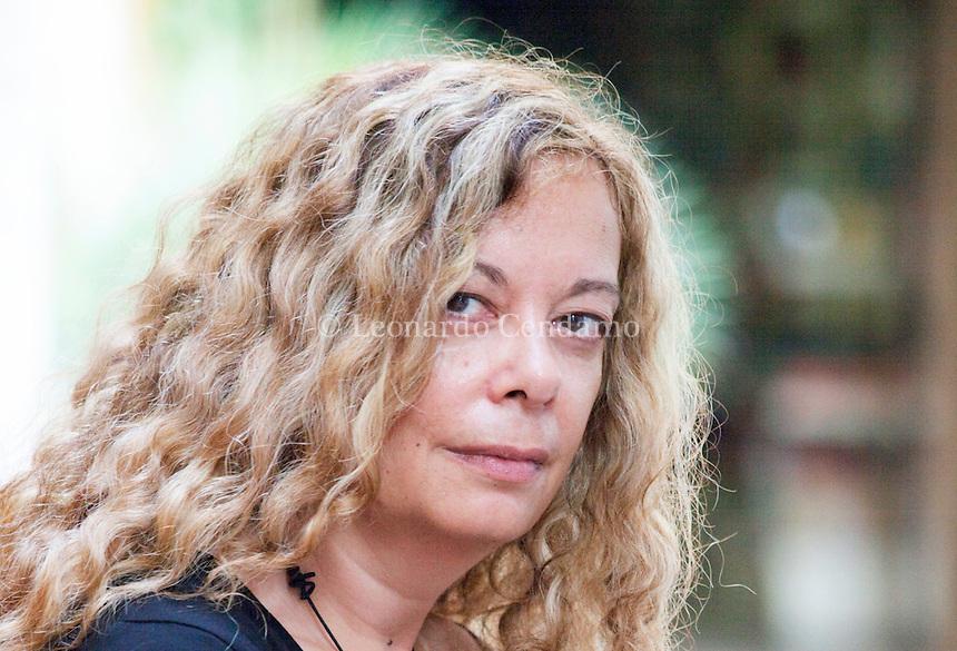 Loredana Lipperini, italian writer. Mantova, 2011.  © Leonardo Cendamo