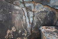 Hawaiian Petroglyphs in Makaha, Oahu