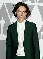 05 February 2018 - Los Angeles, California - Timothee Chalamet. 90th Annual Oscars Nominees Luncheon held at the Beverly Hilton Hotel in Beverly Hills. <br /> CAP/ADM<br /> &copy;ADM/Capital Pictures