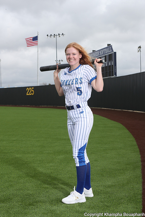Boswell Softball, photographed Monday, March 9, 2020. (Photo by Khampha Bouaphanh)