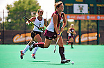 28 August 2009: Boston College Eagles' back Carla Tamer, a Sophomore from Wyoming, OH, in action against the University of Vermont Catamounts at Moulton Winder Field in Burlington, Vermont. The Eagles shut out the Catamounts 3-0 in both teams' first game of the 2009 season. Mandatory Photo Credit: Ed Wolfstein Photo