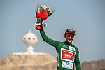 Nathan Haas (AUS) Team Katusha-Alpecin wins the overall Points Green Jersey after Stage 6 of the 2018 Tour of Oman running 135.5km from Al Mouj Muscat to Matrah Cornich. 18th February 2018.<br /> Picture: ASO/Muscat Municipality/Kare Dehlie Thorstad | Cyclefile<br /> <br /> <br /> All photos usage must carry mandatory copyright credit (&copy; Cyclefile | ASO/Muscat Municipality/Kare Dehlie Thorstad)