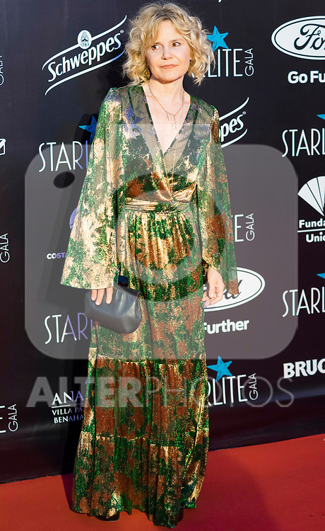 Eugenia Martinez de Irujo attends Photocall previous to Starlite Gala 2019. August 11, 2019. (ALTERPHOTOS/Francis González)